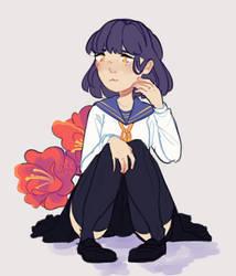 Camellia by nonkiru