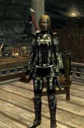 Skyrim Nord in Eisen Armor by danbuter