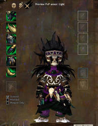 Asuran Necromancer gw2 Guild Wars 2 by danbuter
