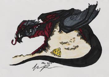 Dragon's Hoard by DrachenPanther5