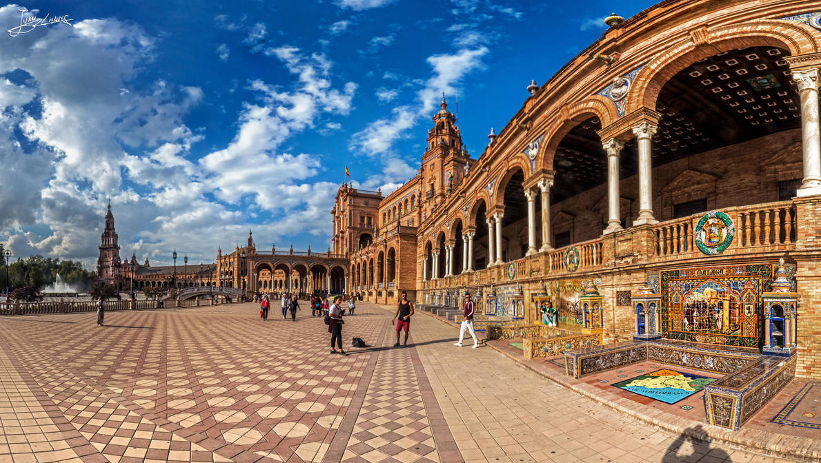 Plaza de Espana IV by JuanChaves