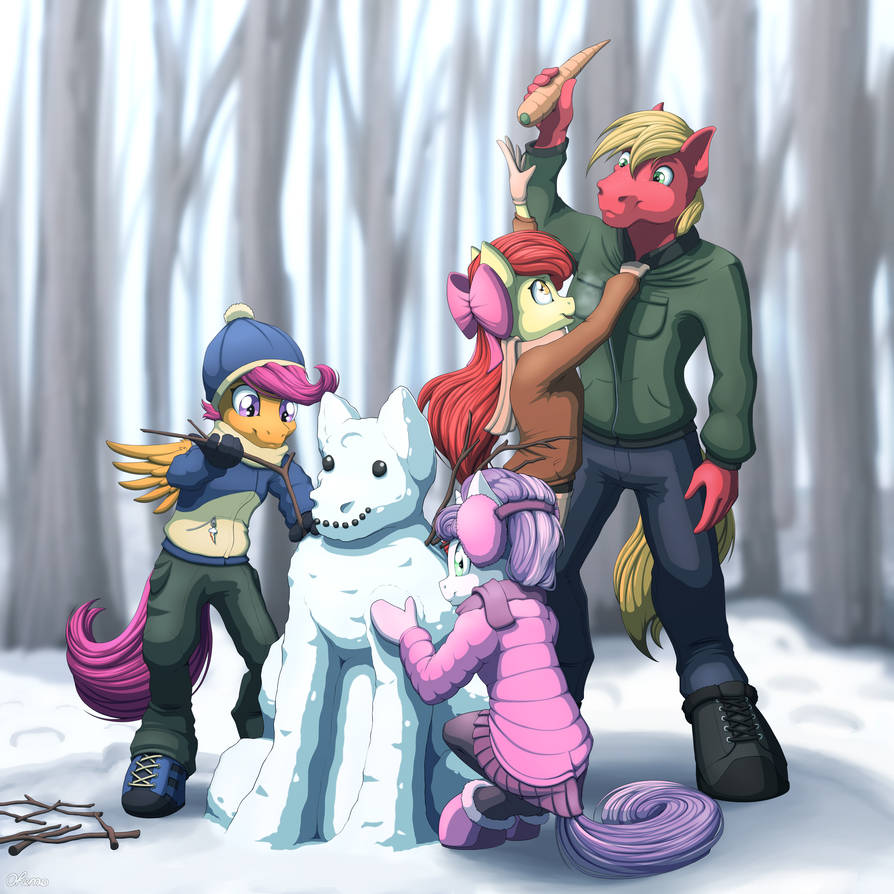 Snowmare by Ohemo