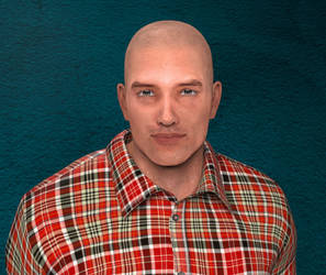 Bubba DuBone Portrait by tman300