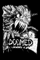 Doomed Cover by Kelenthemaskmaker