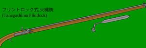 Tanegashima Flintlock by Imperator-Zor