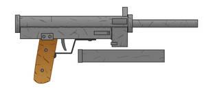 (Alternate History) Homemade Sub Machine Gun by Imperator-Zor