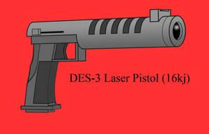 Laser Pistol by Imperator-Zor