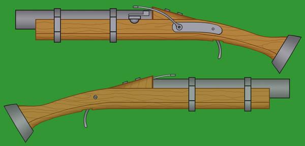 Matchlock Pistols by Imperator-Zor