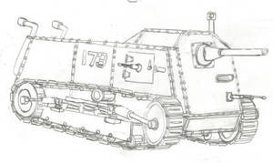 An Early Tank by Imperator-Zor