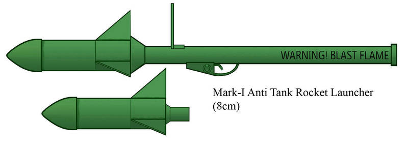Mark-I Anti Tank Rocket Launcher by Imperator-Zor
