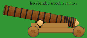 Wooden Cannon by Imperator-Zor