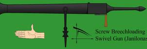 Drow swivel gun by Imperator-Zor