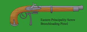 Eastern Principality Screw Pistol by Imperator-Zor