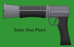 Sonic Stun Pistol by Imperator-Zor