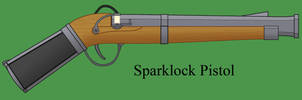Sparklock Pistol by Imperator-Zor