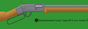 Type-4S Lever Action Shotgun by Imperator-Zor