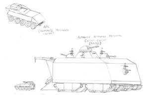 Armored Armored Personnel Carrier Carrier by Imperator-Zor