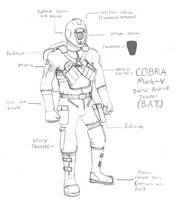 COBRA Battle Android Trooper by Imperator-Zor