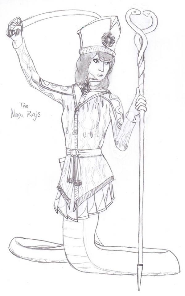 The Naga Rajs by Imperator-Zor