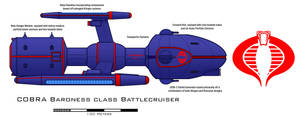 COBRA Baroness class Battlecruiser by Imperator-Zor