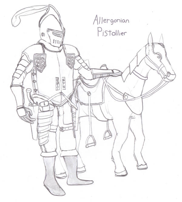 Allergonian Pistollier by Imperator-Zor