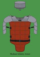 Medium infantry Armor by Imperator-Zor