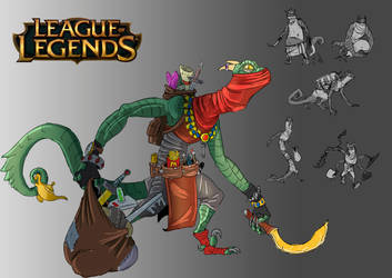 League of Legends - Champion Concept by mr-supermega
