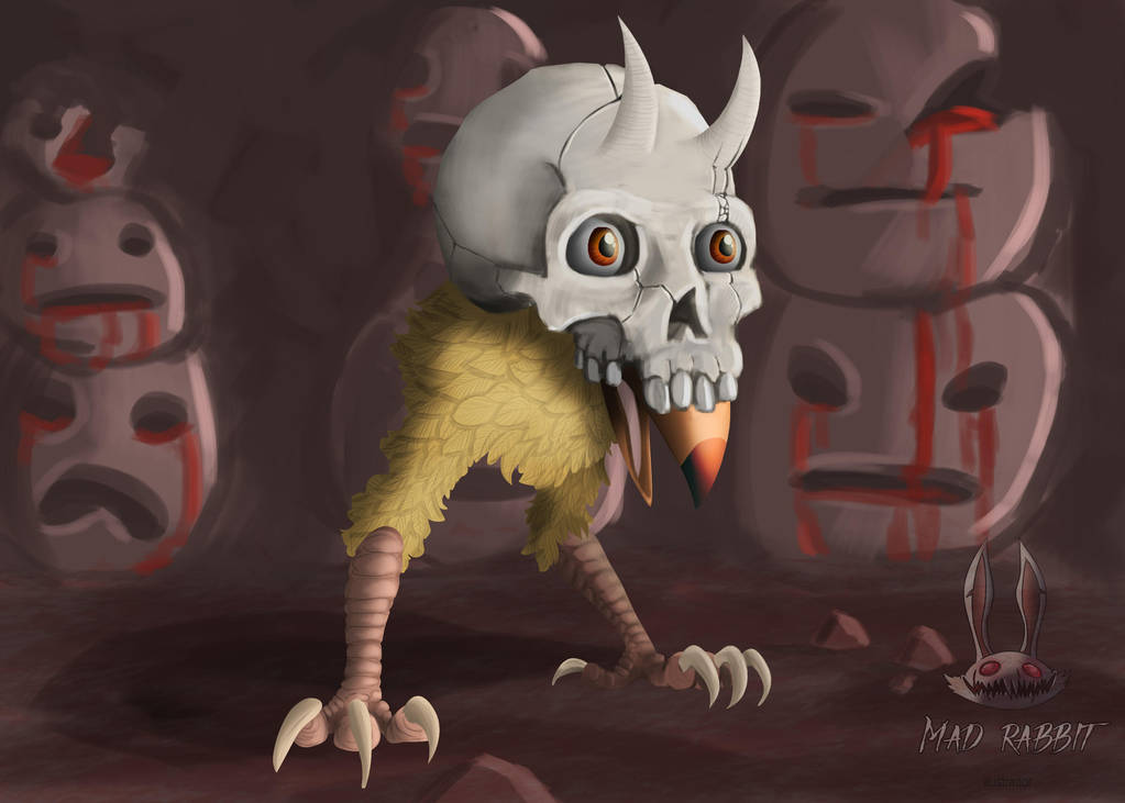 Skull Chick by mr-supermega