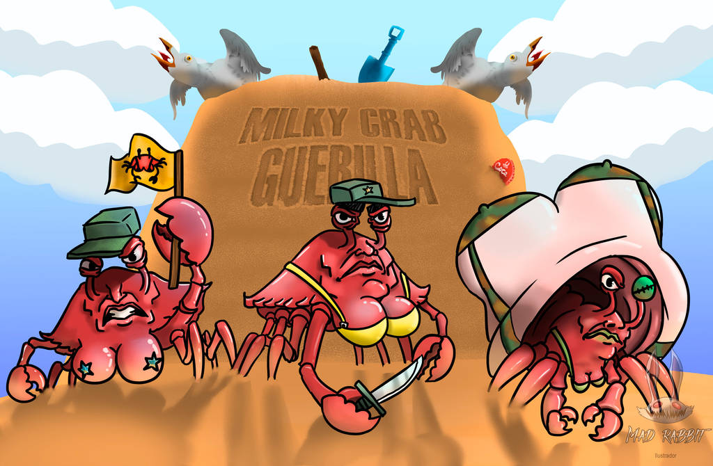 Milky Crab Guerilla by mr-supermega