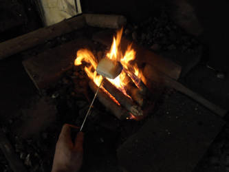 Blacksmith marshmallow by JoeWere