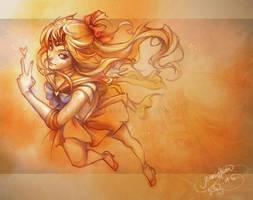 Sailor Venus by shideh