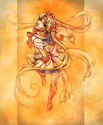 Sailor Moon by shideh