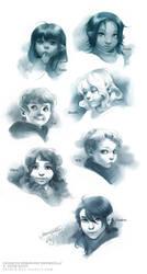 Children by shideh