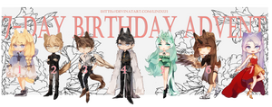 Birthday Adopt Advent   OPEN   by Linixu