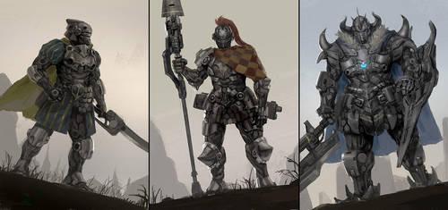 Knight Series 1 by rickyryan