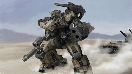 Desert Legion by rickyryan