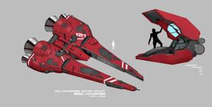 Red Hawker by rickyryan