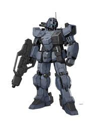 Gundam Troopers by rickyryan