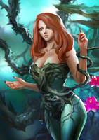 Poison Ivy at forest by rickyryan