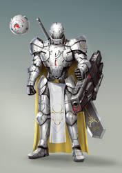 Knight White by rickyryan