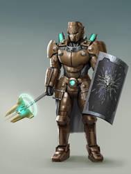 Bronze Knight by rickyryan