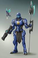 Blue Knight by rickyryan