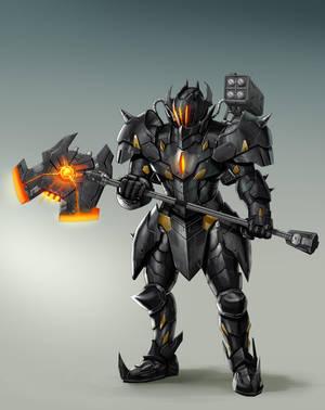 Black Knight by rickyryan