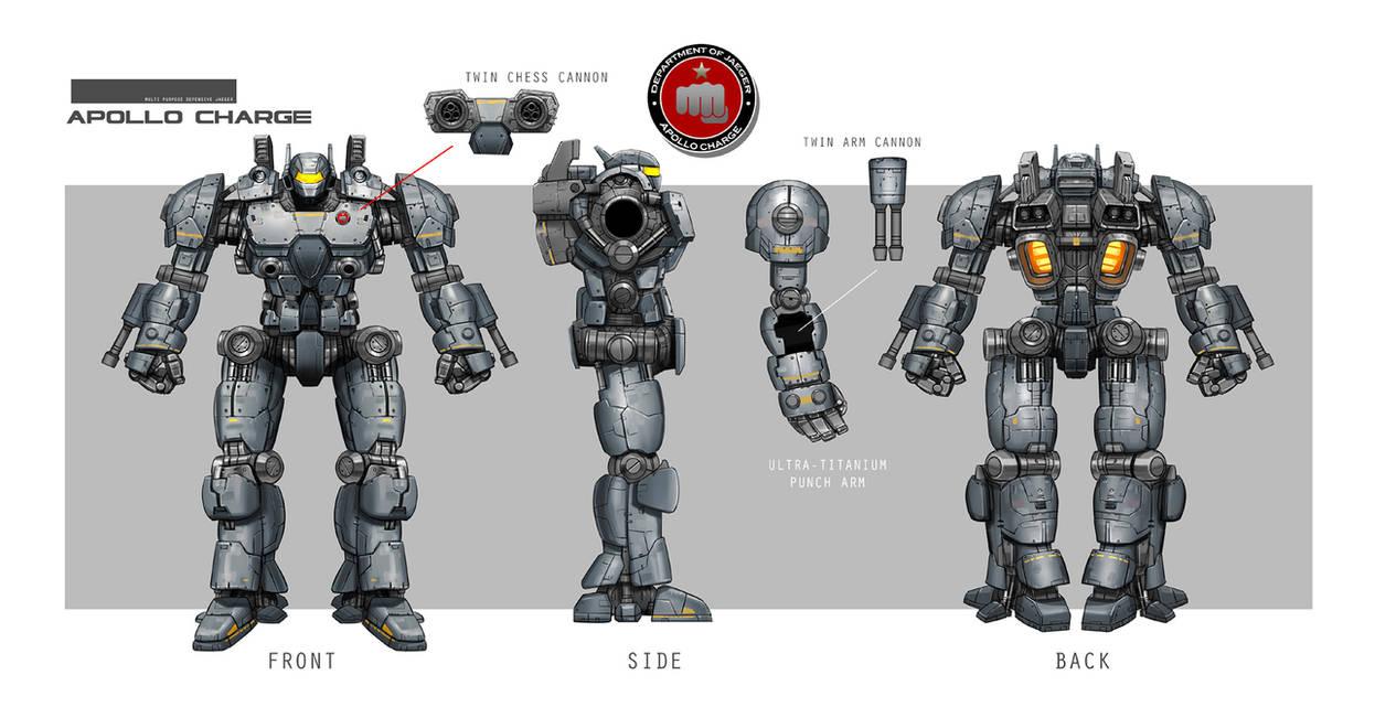 Concept Design Mech1 by rickyryan