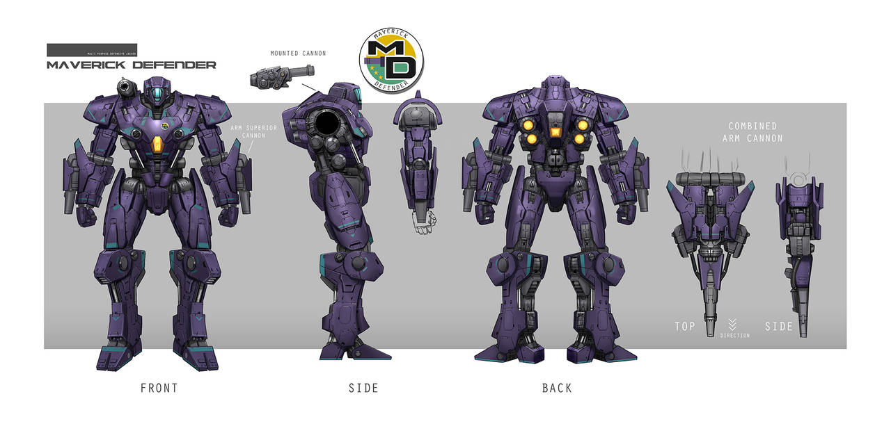 Concept Design Mech2 by rickyryan