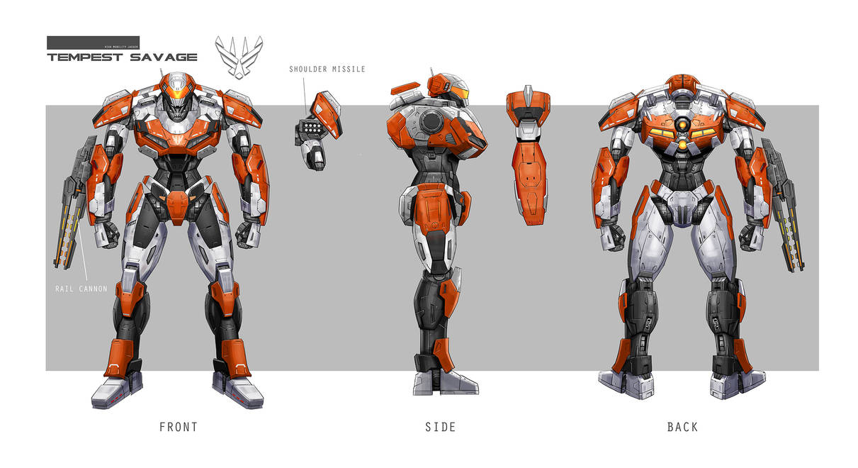 Concept Design Mech5 by rickyryan