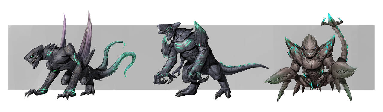 Concept Design Kaiju1 by rickyryan