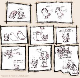 Trick or Treat part 2 by JinxBunny