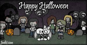 Happy Halloween 2010 by JinxBunny
