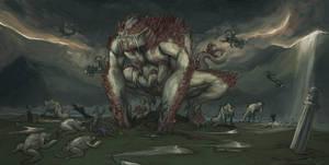 Dagon: Lord of Deeps! by mrAlejoX